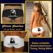 Capt. Jack's Ladies Pirate Panties - Singles_image